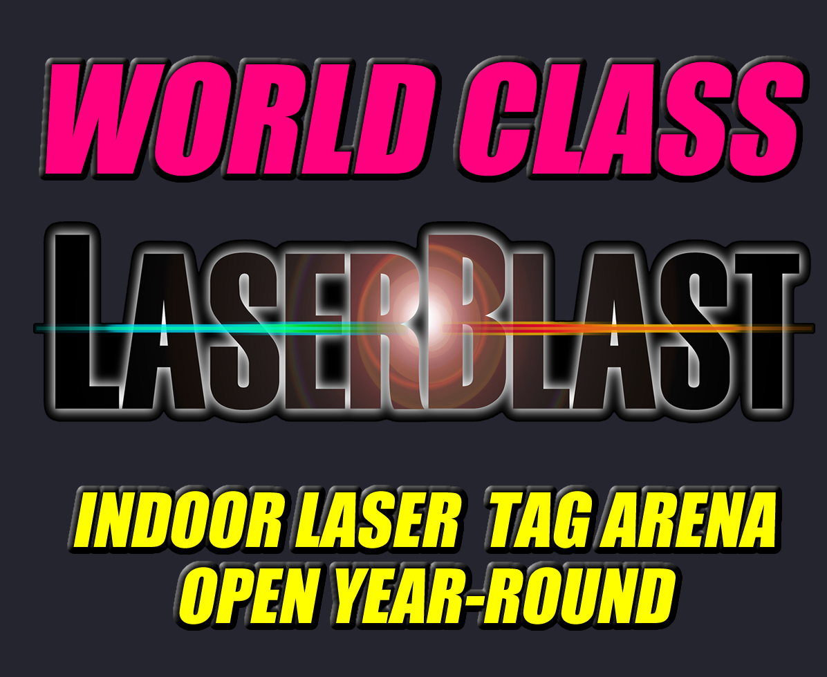 Play laser tag in the arena that fights back!