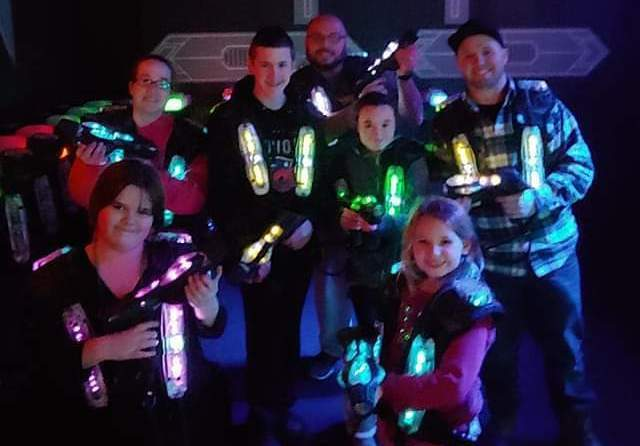 New Hampshire's premier indoor laser tag facility!