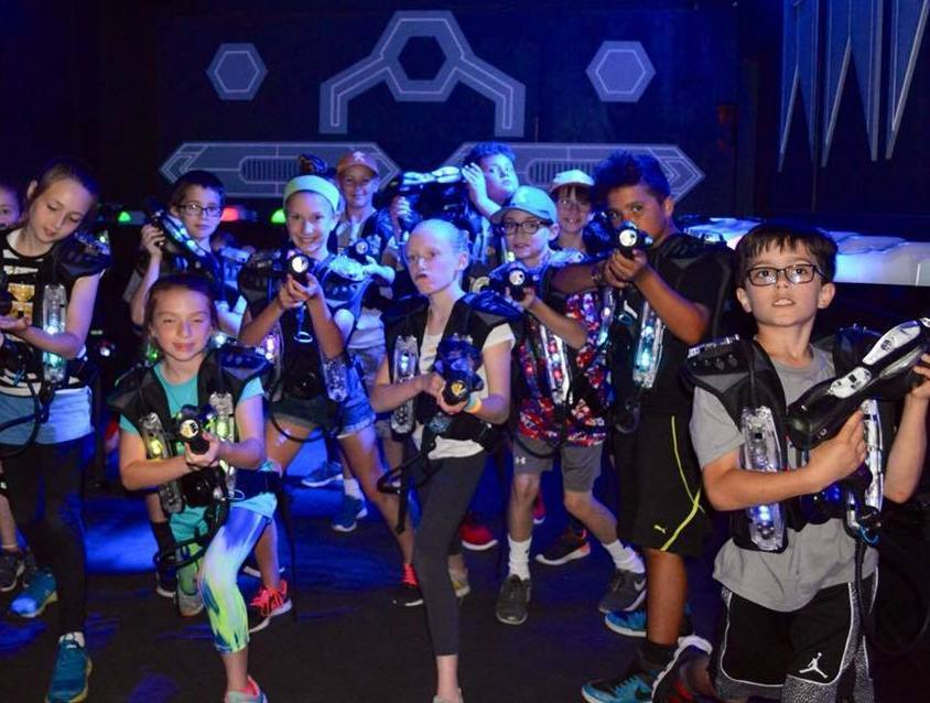Play WORLD-CLASS indoor laser tag right here in New Hampshire!